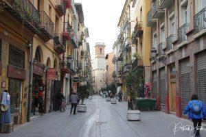 Strasse in Valencia